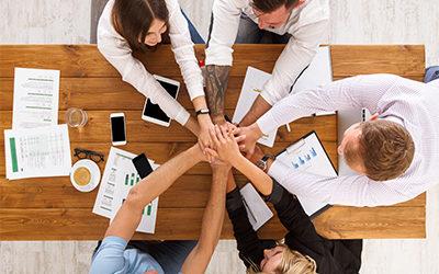 hands-together-at-work